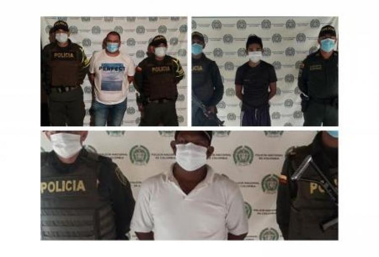 Capturadas tres personas en flagrancia por fuga de presos en San Onofre, Sucre