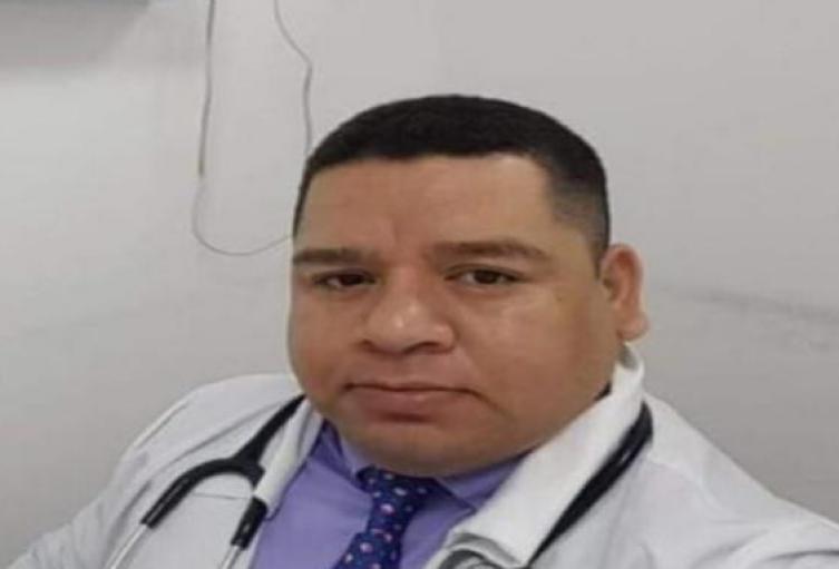 Médico fallecido, Edwin de la Hoz Cortez