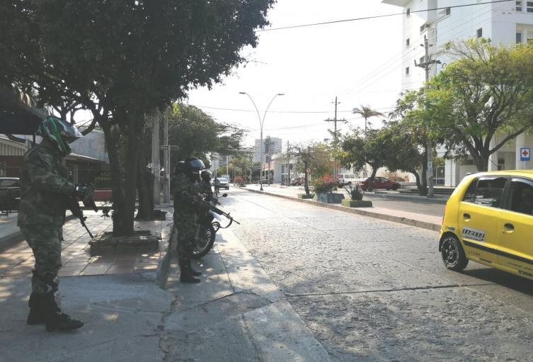 Continúan las medidas para contener la propagación del Covid-19 en Santa Marta