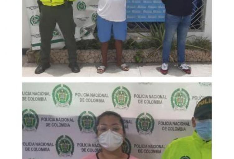 Por pegones capturadas dos personas en Tolú y Toluviejo en Sucre