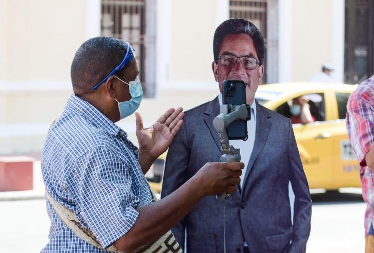 Las personas en Santa Marta y el Magdalena insultaron imágenes del ministro de hacienda y el presidente Duque