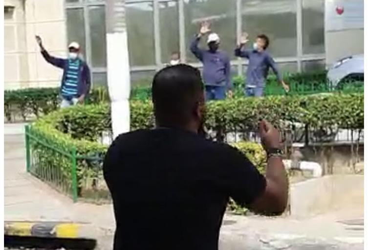 Hombre oró a los enfermos en Barranquilla.