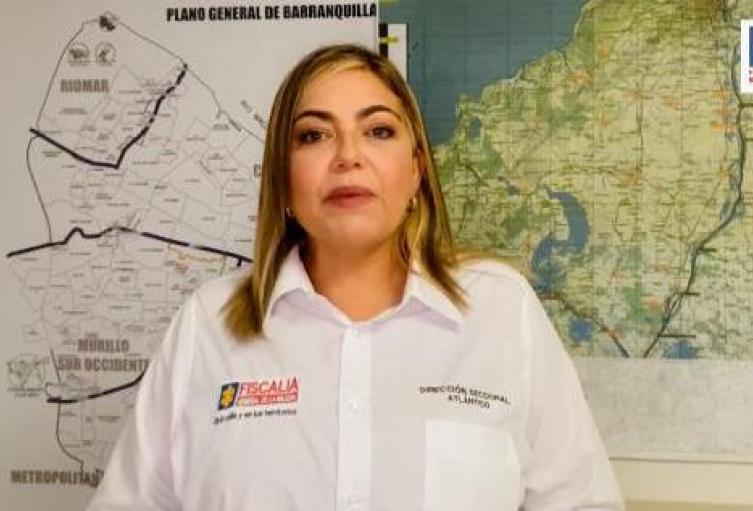 Viviana Iriarte, directora Fiscalía seccional del Atlántico