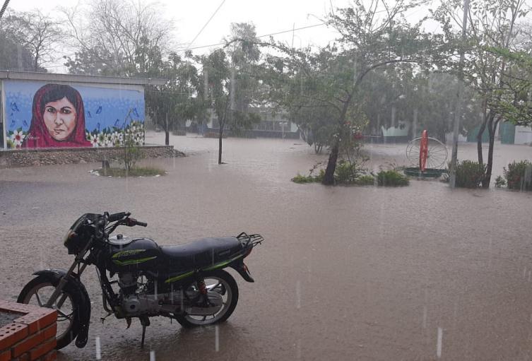 En más de 13 sectores en Cartagena se presentaron afectaciones por las lluvias de las últimas horas