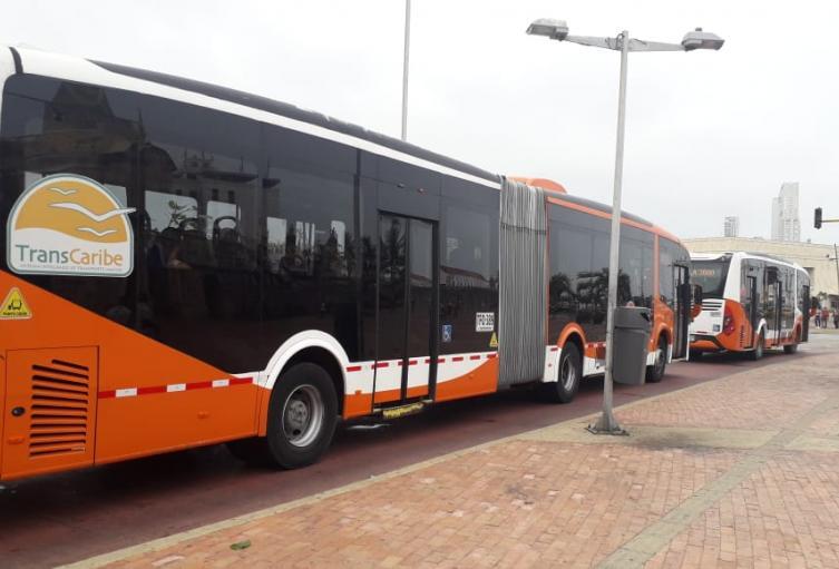 Transcaribe operador del sistema de transporte de Cartagena