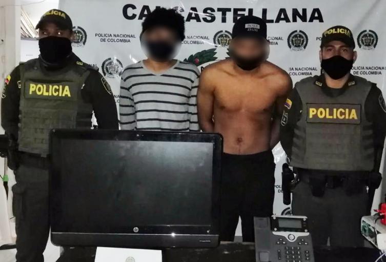 Capturados por presunto vandalismo en Cartagena