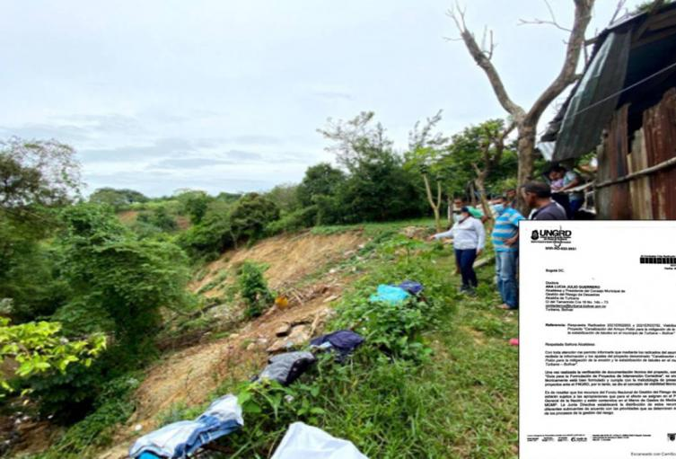 Canalización de 1,8 kilómetros del Arroyo Polón