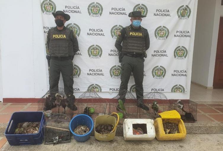 Policía de Bolívar en San Juan Nepomuceno