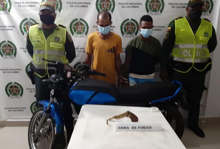 En el kilómetro 1 vía a Magangué fue capturados