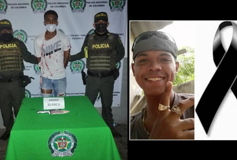 Sebastián Barbosa de Arco, de 21 años. Capturado