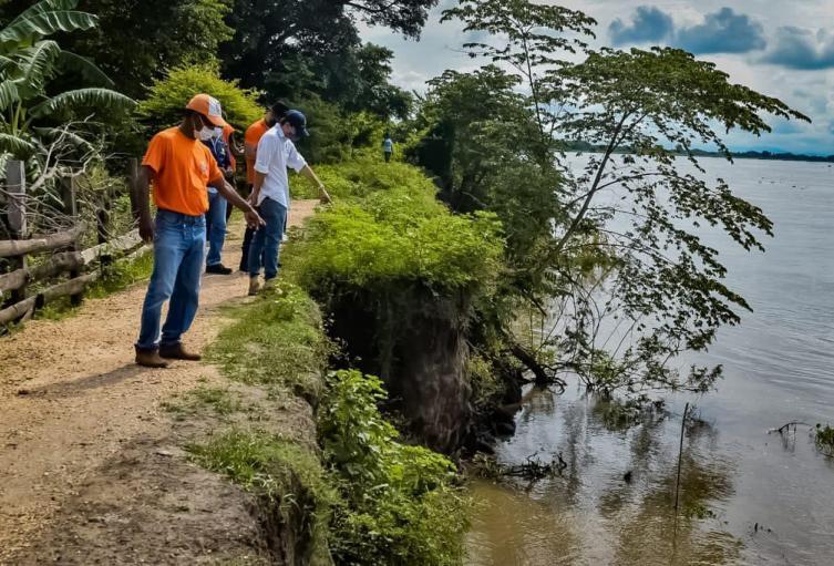 Autoridades piden apoyo del gobierno departamental y nacional para evitar una tragedia en zona rural de El Banco