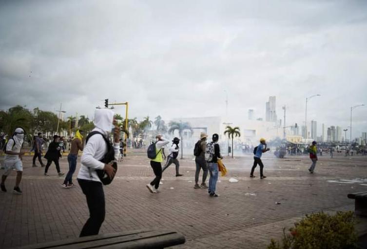 Disturbios en Cartagena