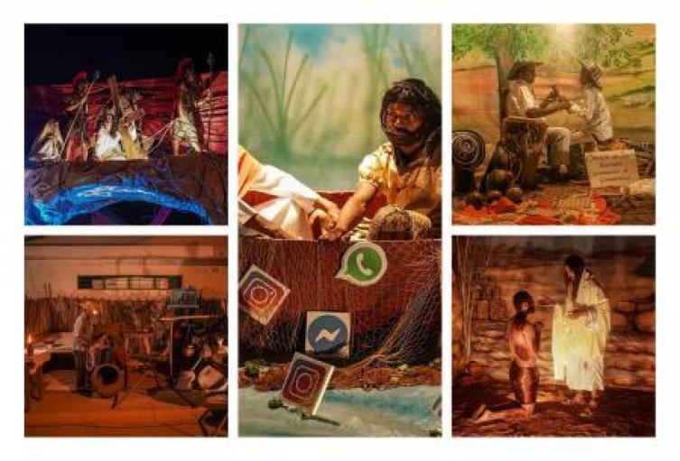 Postulan ante la Unesco cuadros vivos de Galeras como patrimonio cultural inmaterial de la humanidad