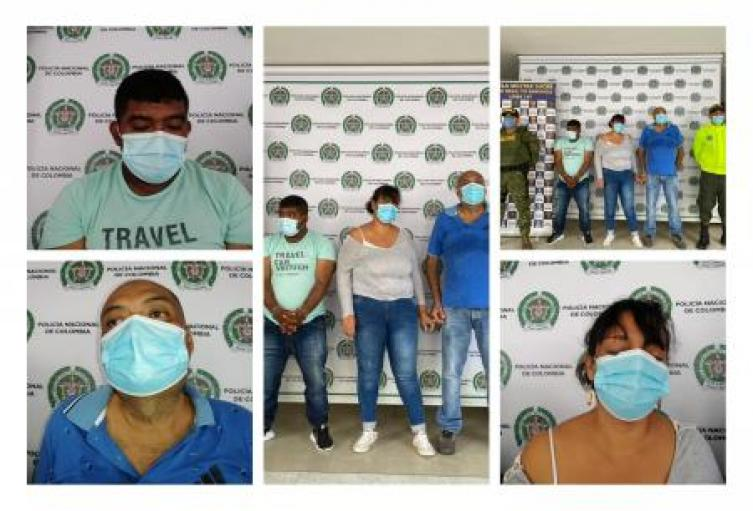 Por el delito de concierto para delinquir fueron capturadas tres personas en Sampués, Corozal y Sincelejo