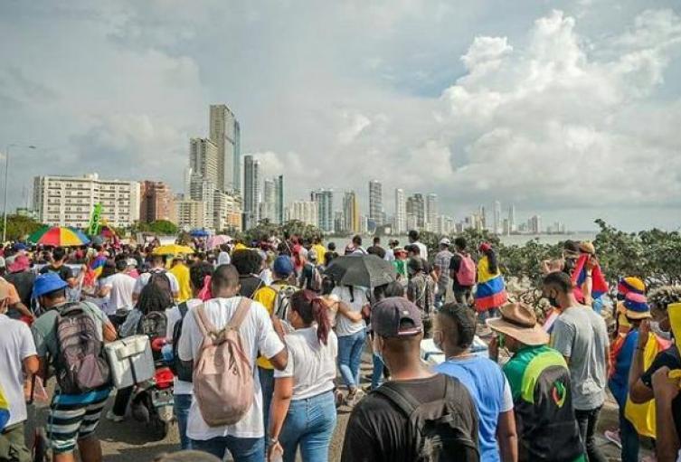 Protesta Cartagena