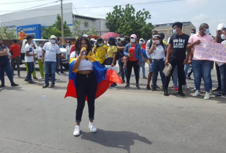 Los guajiros dieron ejemplo de marcha pacífica