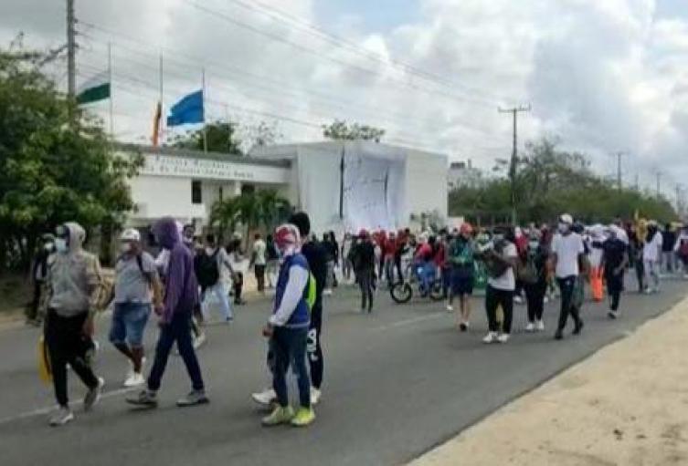 Marchas en Barranquilla