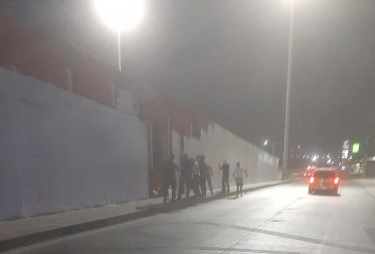 Mural borrado en Barranquilla