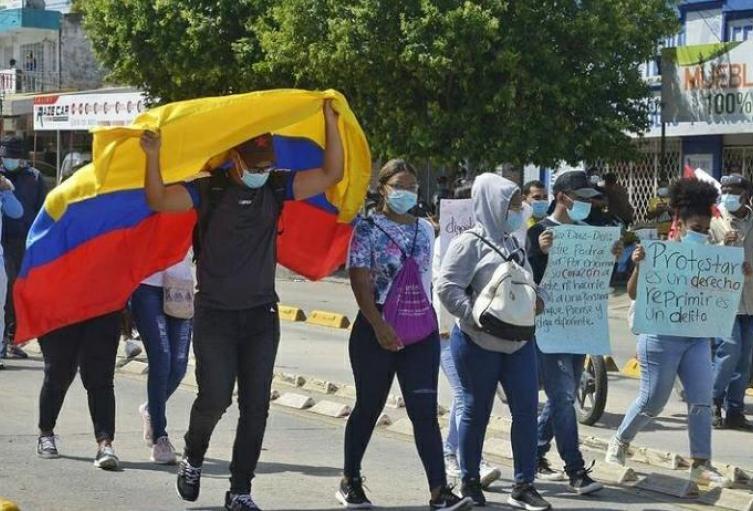 Protestas en Cartagena