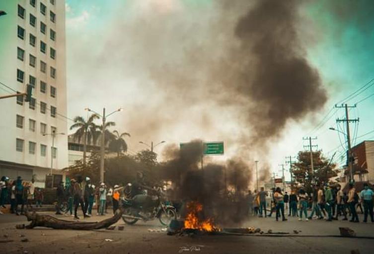 Alteración de orden público en Cartagena