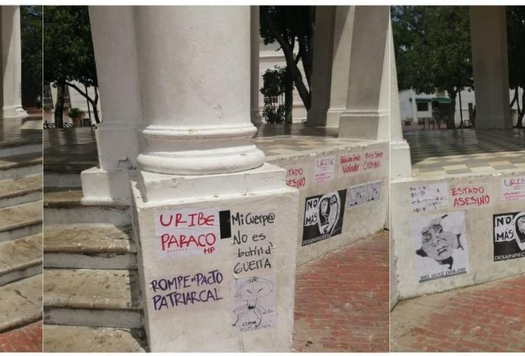 Los empresarios piden no se vandalice el centro histórico, ya que tienen meses tratando de recuperar