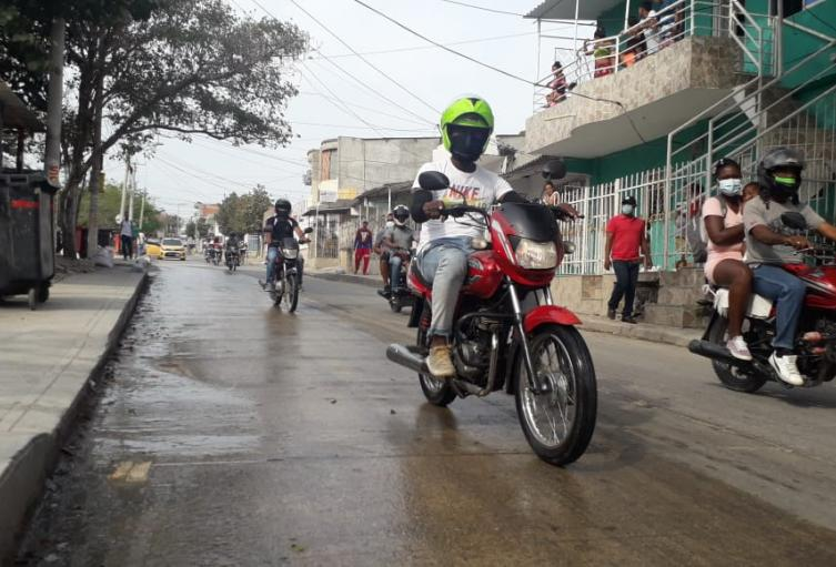 Barrios con mayores contagios por COVID 19 en Cartagena