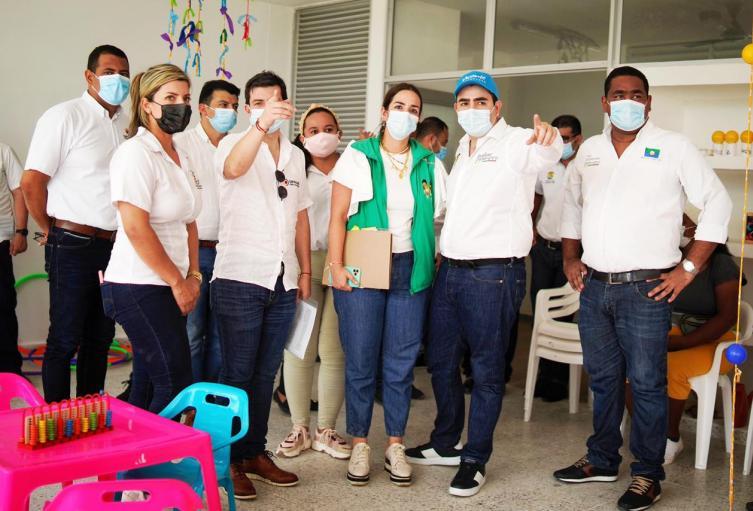 Después de años de retrasadas las obras, hoy entregan CDI que benefician a más de 600 niños en Bolívar