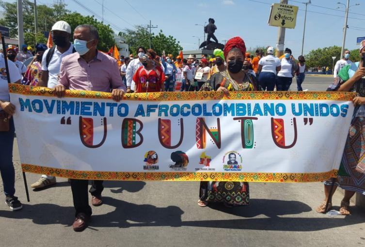 Agrupaciones afro se unieron a las jornadas