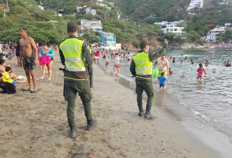 Santa Marta, sigue siendo el destino preferido de los turistas.