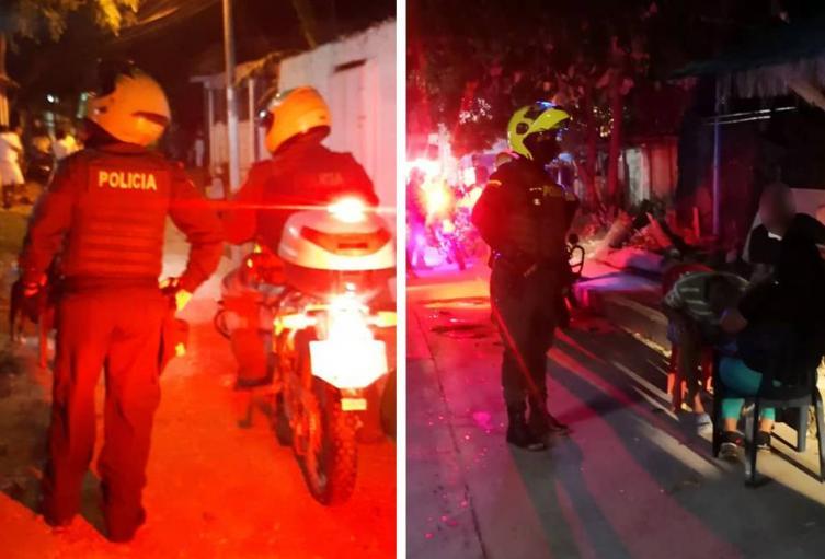La Policía adelanta operativos en la zona