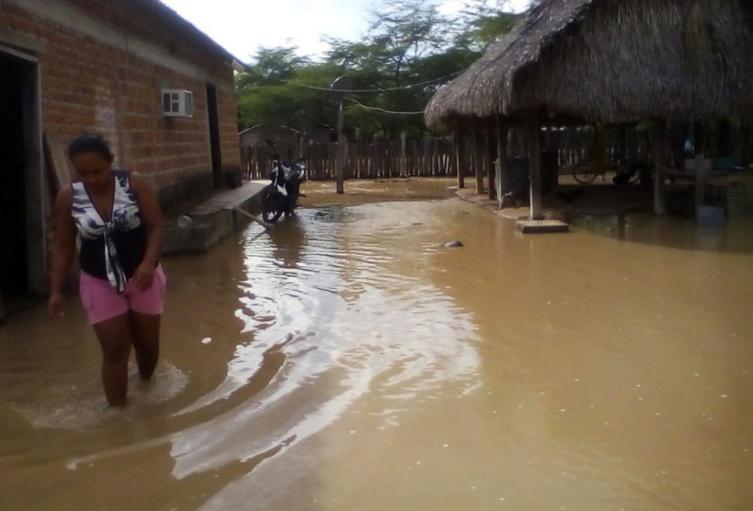 Desbordamiento del río Garupal