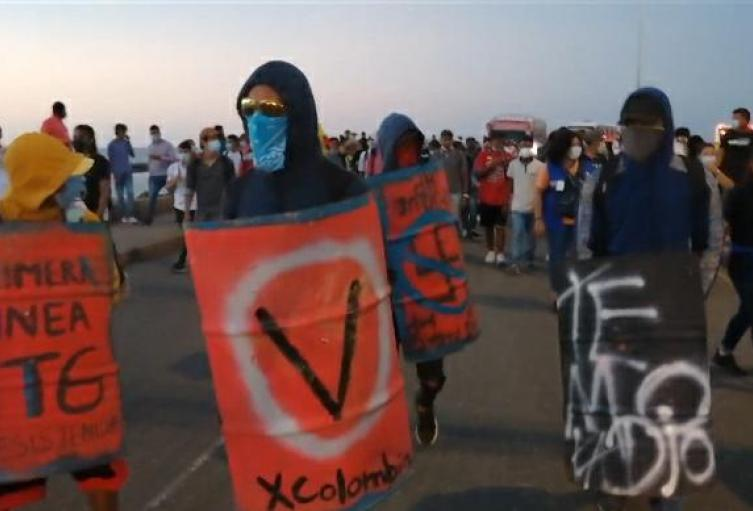 En Cartagena continuarán desarrollándose movilizaciones