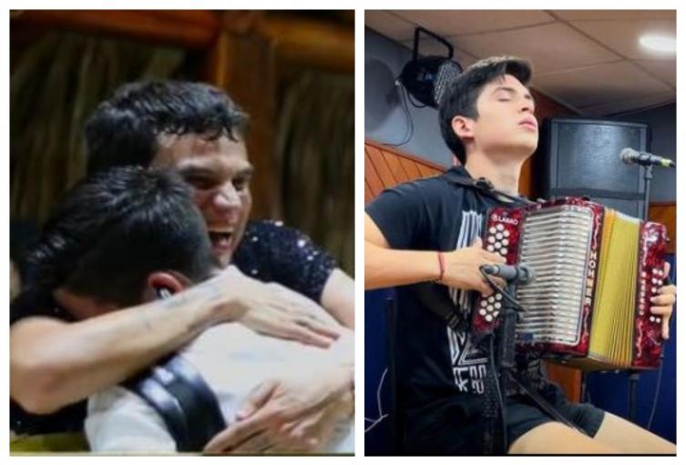 Rubén Lanao, nuevo acordeonero de Silvestre Dangond