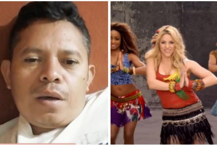 El 'tiktoker' que imita a Shakira y arrasa en redes sociales