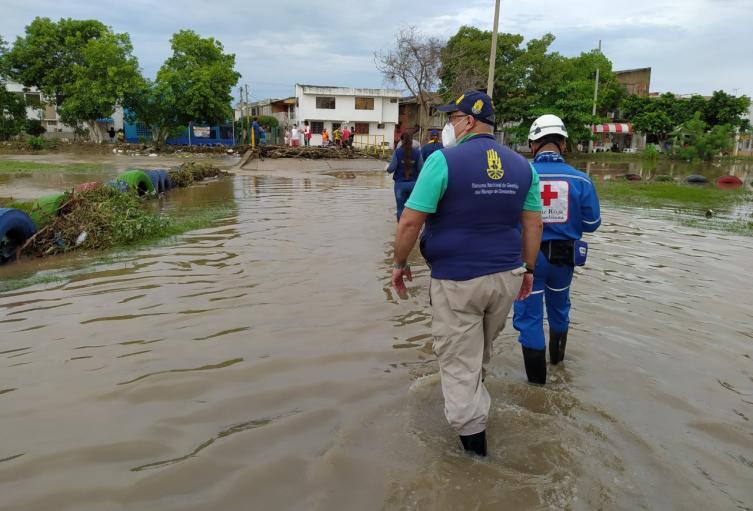 Se prepara Plan de Contingencia ante emergencias por lluvias en Cartagena