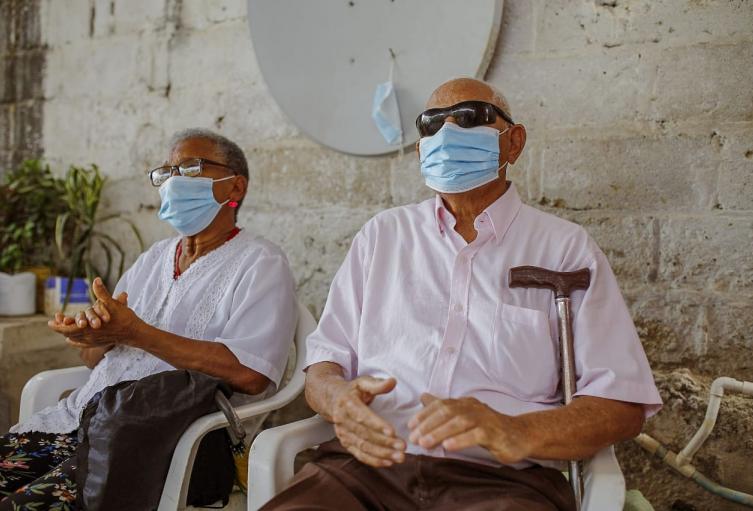 Programa de adulto mayor en Cartagena