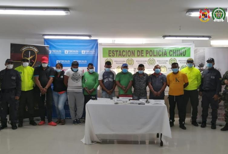 Los operativos se cumplieron en Córdoba y Sucre