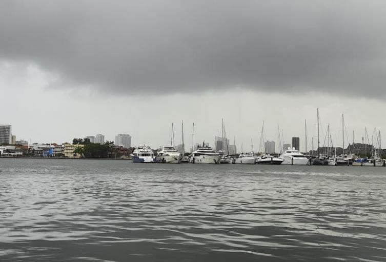 Lluvias sobre el litoral Caribe