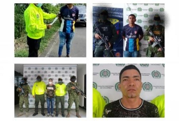Cayeron 'Aldo y el 'Coco' presuntos integrantes del Clan del Golfo en Sucre