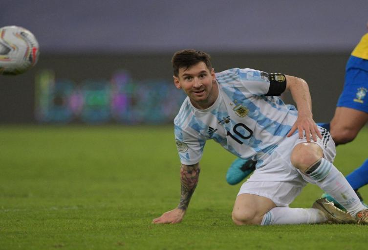 Lionel Messi, campeón de la Copa América
