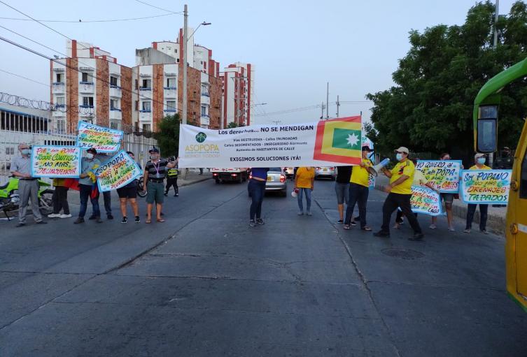 Asociación de Vecinos del barrio Pie de La Popa (Asopopa)