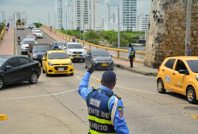 Movilidad en puente Las Palmas