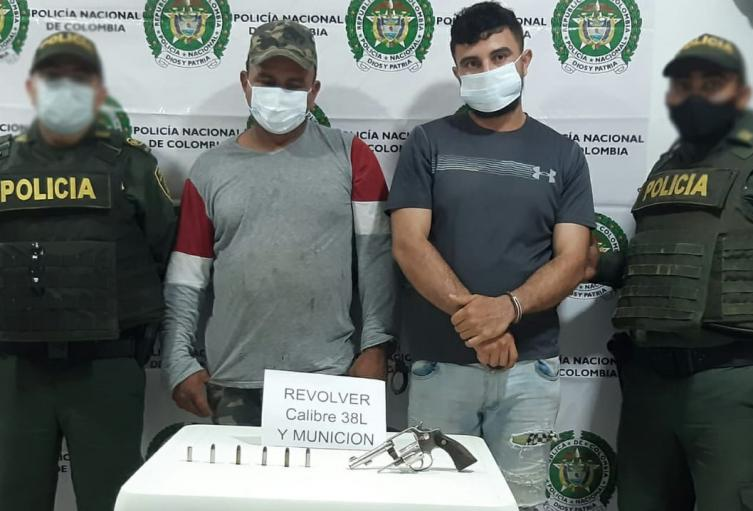 Carlos Alfonso y Gilberto Luis Paternina