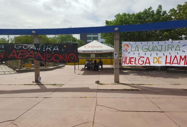 15 días en huelga de hambre cumplen hoy los nueve jóvenes guajiros