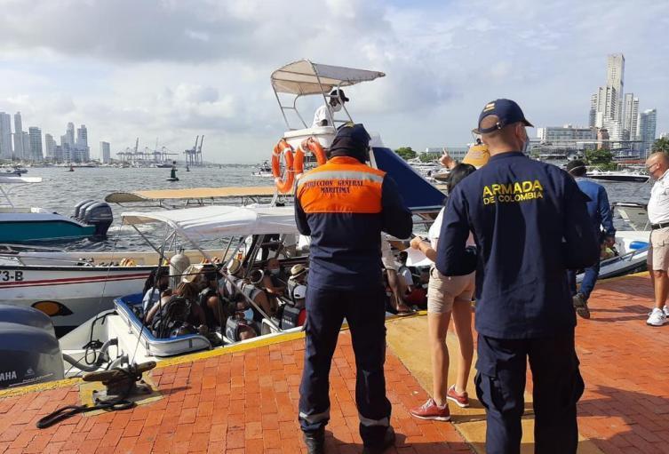 Más de 60.000 personas se movilizaron hacia las islas de Cartagena durante temporada vacacional
