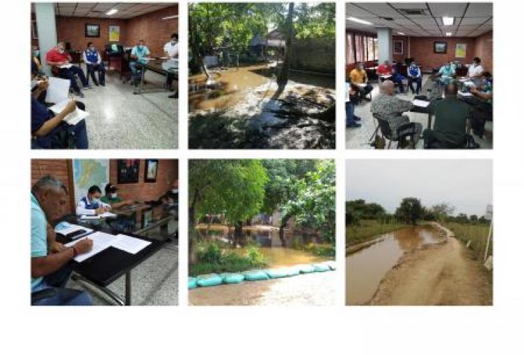 Declarada la alerta roja en el San Jorge y la Mojana Sucreña por inundaciones