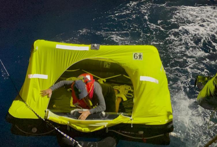 Dos de los tripulantes eran de nacionalidad irlandesa y uno inglesa