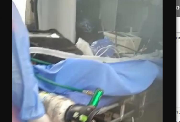 El menor fue trasladado a otro centro asistencial para su recuperación