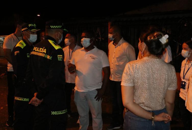 Cerca de 800 uniformados custodiaron a Montería