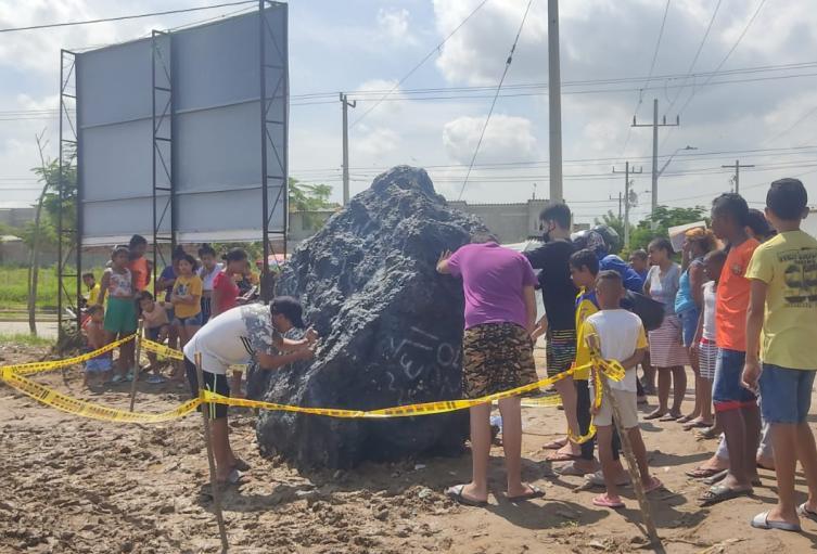 Supuesto meteorito en Barranquilla